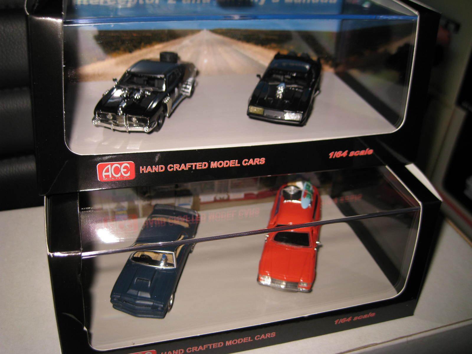 1/64 Mad Max Interceptor  Enemy's Landau Holden Panel Van Nightrider Monaro sets