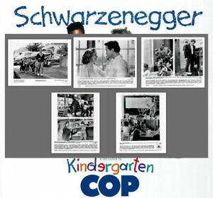 Kindergarten Cop 1990 Press Publicity Photo Still Kit 8x10 Arnold Schwarzenegger Ebay