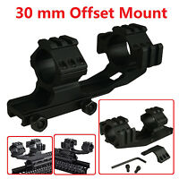 Tms 30mm Offset Pepr Style Cantilever Scope Mount Picatinny Weaver Rail Usa
