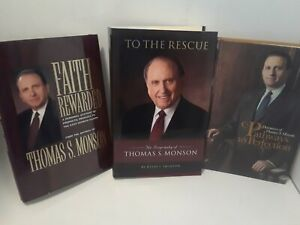 Faith-Rewarded-To-the-Rescue-Pathways-to-Perfection-2-books-SIGNED-Monson