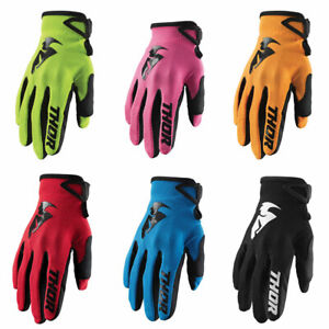 MOUNTAIN BIKE MTB 2019 THOR SECTOR MOTOCROSS MX BIKE GLOVES ADULT RED