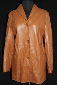 RARE-HIGH-QUALITY-VINTAGE-1960-039-S-1970-039-S-DEERSKIN-LEATHER-JACKET-WISCONSIN-SZ-38