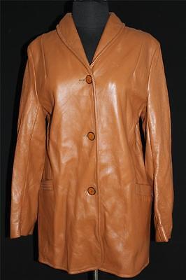 Freundlich Selten Hochwertig 1960's Vintage -1970's Hirschleder Jacke Wisconsin Sz 38