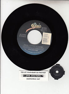 SPIN-DOCTORS-You-Let-Your-Heart-Go-Too-Fast-Cleopatras-Cat-7-45-NEW-RARE