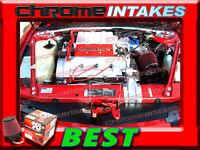 K&n+blue Red 90-93 Chevy Lumina/oldsmobile Cutlass Supreme 3.4l Z34 Air Intake