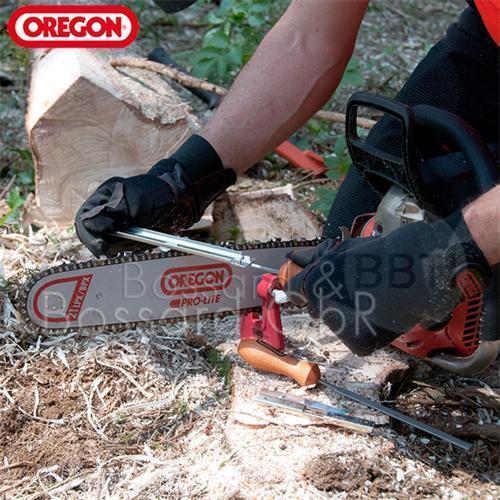 """OREGON Feilenhalter inkl Heft /& Rundfeile 4,8 mm für 0.325/"""" Sägeketten Q18228C"""