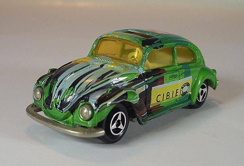 Majorette 1 60 no 202 VW Volkswagen 1302 Beetle Beetle CIBIE No. 54