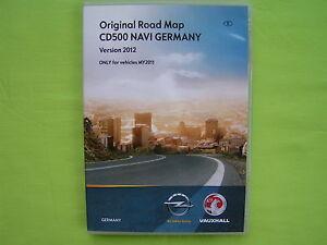 cd navigation software opel cd 500 navi deutschland 2012. Black Bedroom Furniture Sets. Home Design Ideas