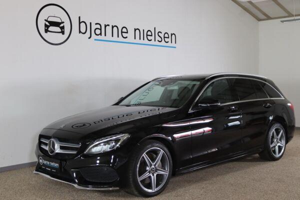 Mercedes C220 d 2,2 AMG Line stc. aut. 4Matic billede 0