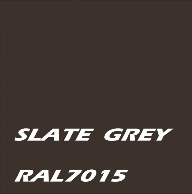SLATE GREY RAL7015 Metal Machinery Enamel Gloss Paint, Brush or spray