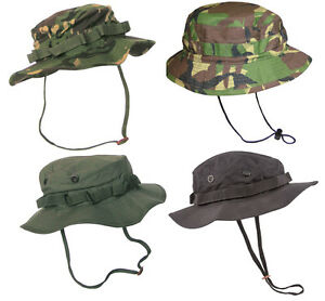 US-amp-British-Army-Military-Jungle-Boonie-Sun-Bush-Hat-Rip-Stop-Special-Forces