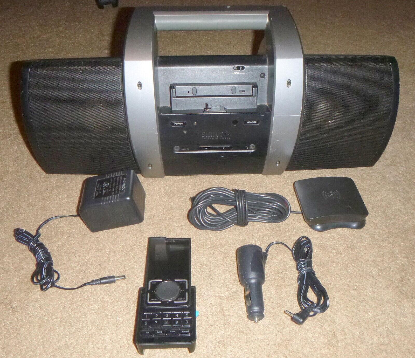 Sirius SLH2 Stiletto 2 Home Kit Bundle for Stiletto 2 Portable Radio