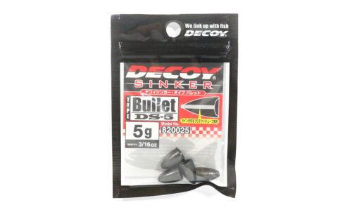 0025 Decoy DS-5 Sinker Type Bullet Size 5 grams