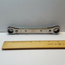 Vintage Mac Tools 6 Pt Rbw 15 Double Box End 12 Amp 916 Ratcheting Wrench Marks