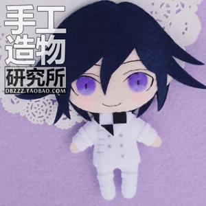 Anime-Danganronpa-V3-Ouma-Kokichi-Handmade-Hanging-Plush-Doll-Toy-Keychain-Bag
