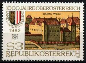 Austria 1983 SG#1960 Millenary Of Upper Austria MNH #D64060
