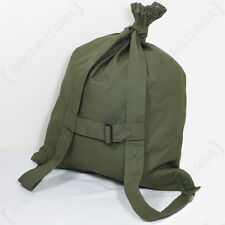WW2 RUSSIAN M35 DUFFEL BAG - Repro Soviet Canvas Olive Green Backpack Drawstring