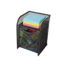 Staples Metal Storage//Document Box Black 329892 21579