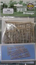 Ratio 242 Steel Viaduct Trestles - N Gauge Plastic Kit Railway Model