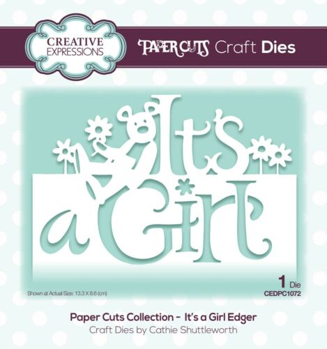 Jan 2019 CREATIVE EXPRESSIONS Paper Cuts Collection New Paper Cuts Edger Die