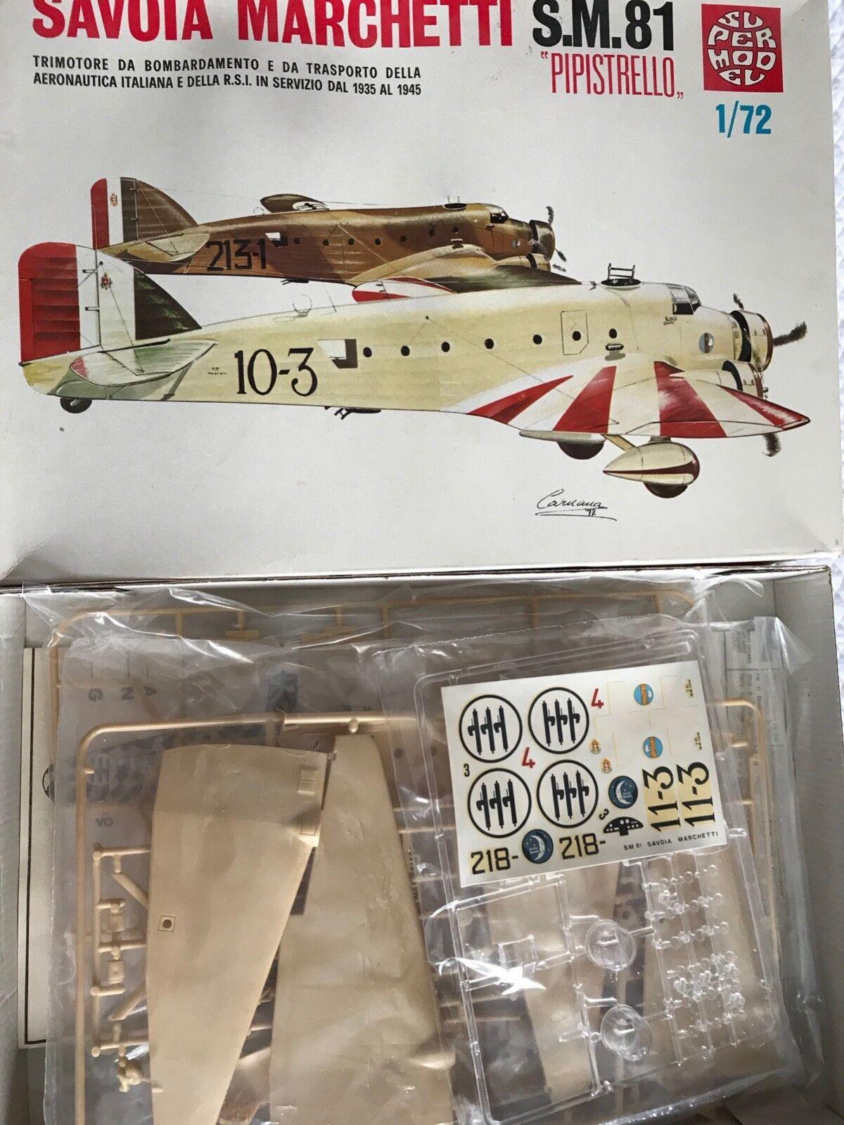 Super Model 1 72 scale Savoia Marchetti S.M. 84 Pipistrello