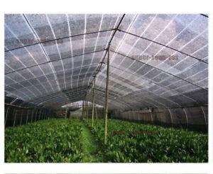 Home Garden 60 Uv Black Shade Cloth Yard Sunshade Fabric Greenhouse