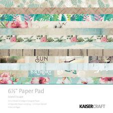 "Kaisercraft Paper Pad 6.5/""X6.5/"" 40//Pkg Magenta 883416350712"