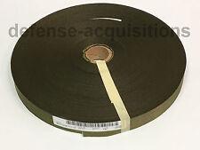 """5 YARDS OF 1"""" Inch MilSpec Webbing Binding Ribbon OD#7 MIL-T-5038H Grosgrain"""