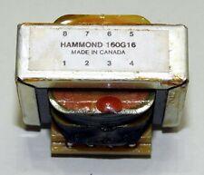 Vintage Hammond 160g16 Transformer Pcb Mnt 115230vac To 8vac16vac 128a640ma