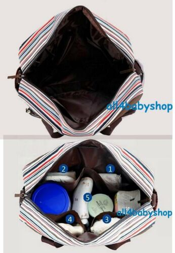 Large Size Strpie Baby Nappy Changing Change Bags Hospital Bag 3 Designs 8009