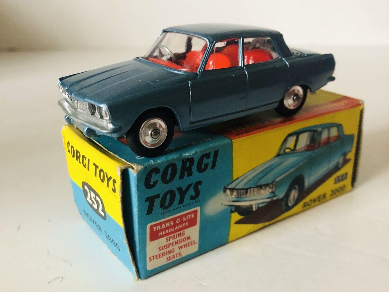 venderse como panqueques Corgi Juguetes 252 ROVER 2000 CAJA CAJA CAJA ORIGINAL GT.BRITAIN  Venta en línea precio bajo descuento