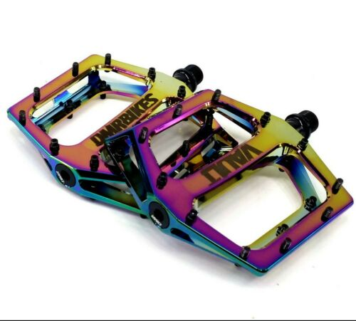 DMR Vault Lacon Signature Mountain Bike Platform Pedals Chromo Oil Slick