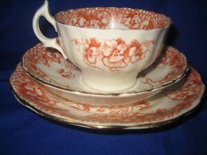 Antique-Porcelain-Asbury-Longton-Trio