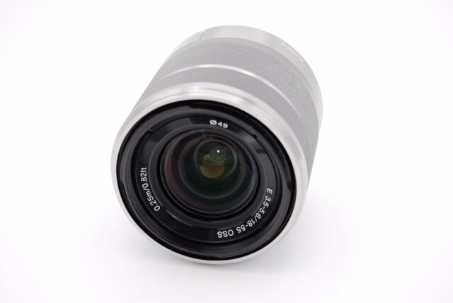 Sony SEL1855 E-mount 18-55mm f/3.5-5.6 OSS Lens