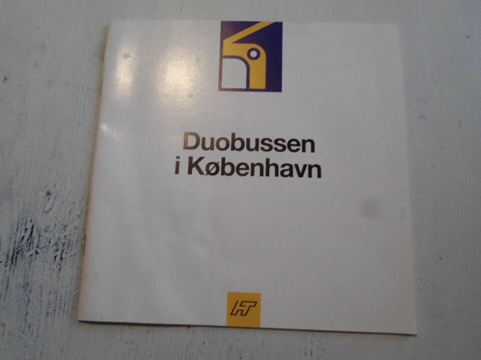 Bøger og blade, Duobussen i københavn 1993