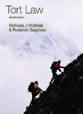 Tort Law (Longman Law Series)-Nicholas J McBride, Roderick Bagshaw