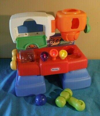Little Tikes Work Bench Workshop Discover Sounds Tool 1682 Hammer 1 Ball Ebay