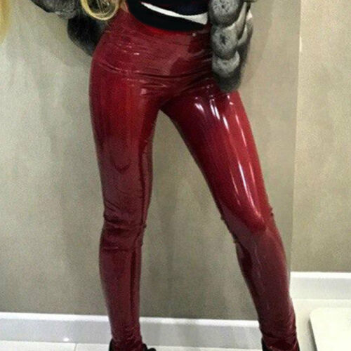 Damen Lederhose Lederjeans Slimfit Tight pants Ziegen Nappa Echtleder S-3XL