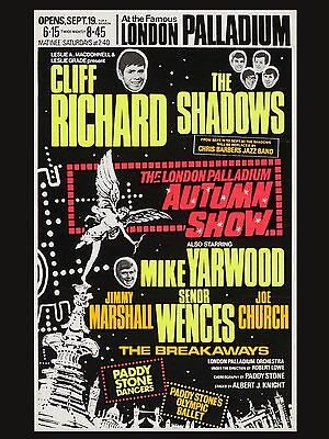 The Shadows Cliff Richard Great REPRO POSTER