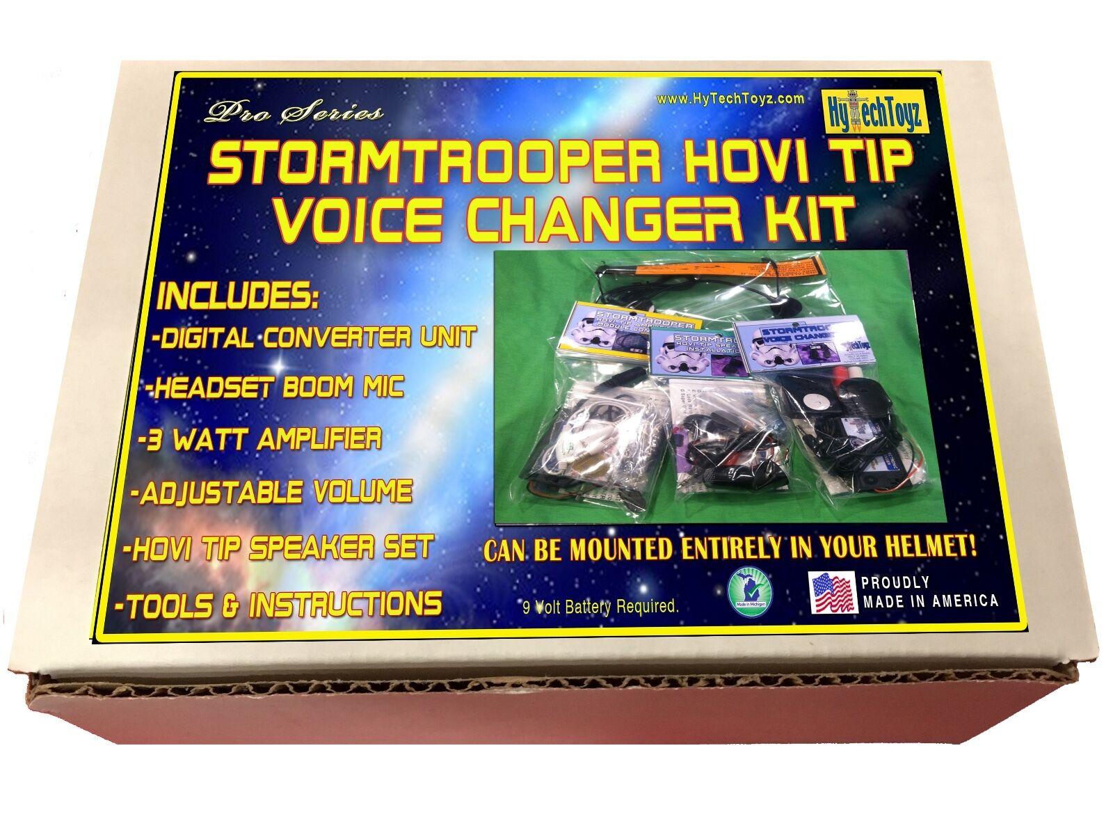 Stormtrooper Casco Voice Changer Serie pro Hovi Punta Altoparlanti Amplificatore