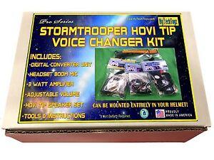 STORMTROOPER-HELMET-Voice-Changer-Serie-PRO-HOVI-Tip-Haut-Parleurs-Amplificateur-MIC-Kit