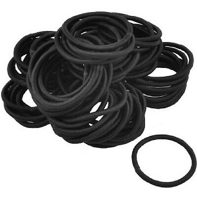 Ponytail Holders No Crease Hair Ties Basketball Black and White