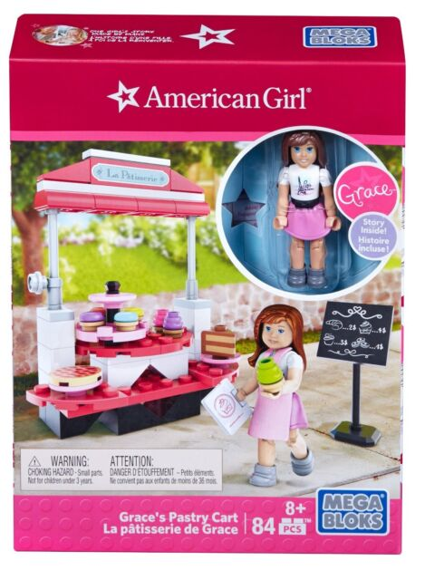 BAKERY TREATS Accessories FAST SHIP American Girl Doll Grace/'s PASTRY CART Set
