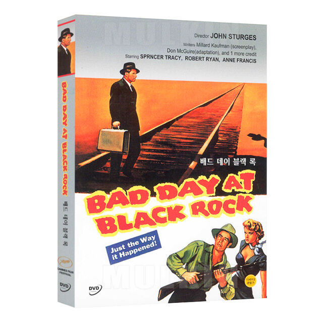 Bad DAY A Black Rock (1955) DVD-Spencer Tracy, JOHN STURGES