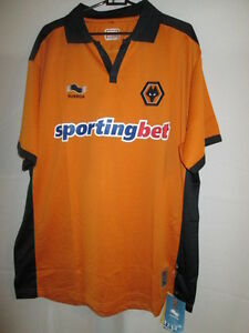Image is loading Wolverhampton-Wanderers-2010-2011-Wolves-Home-Football- Shirt- 24d18914d