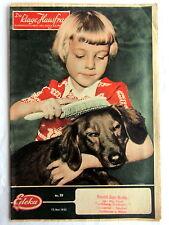 (s) - DIE KLUGE HAUSFRAU - Edeka Kundenzeitschrift Nr. 19 - 13. Mai 1955