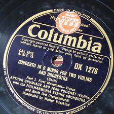 """78rpm 12"""" orphan COLUMBIA DX 1276"""