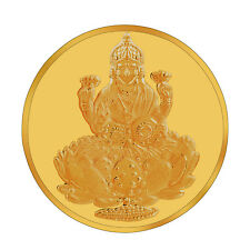 RSBL eCoins Lakshmiji 2 gm Gold Coin 24kt purity 995 Fineness-WITH TAX INVOICE