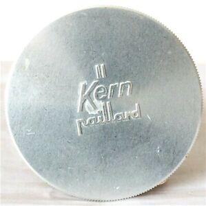 Marque De Tendance Kern Paillard Bolex Large Aluminium C-mount Lens Cap Pour Objectif Zoom-afficher Le Titre D'origine Pourtant Pas Vulgaire