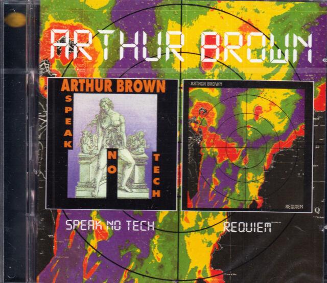 ARTHUR BROWN speak no tech - requiem + 5 bonus tracks 2CD NEU